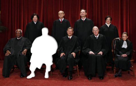The justices of the U.S. Supreme Court minus Antonin Scalia.(Credit: Reuters/Larry Downing/Salon)